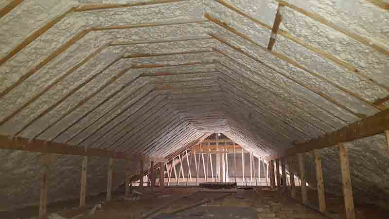 Spray Foam Insulation - Mayo - Sligo - Donegal - Galway - Leitrim